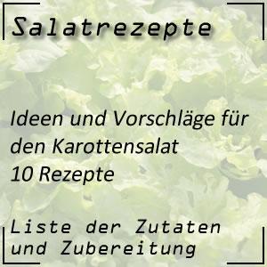 10 Rezepte für den Karottensalat