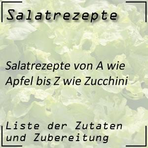 Liste von über 200 Salatrezepte