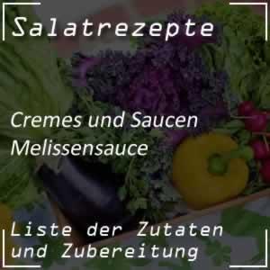 Rezept Melissensauce