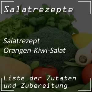 Orangen-Kiwi-Salat