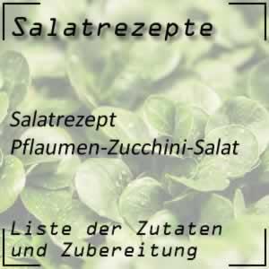 Pflaumen-Zucchini-Salat
