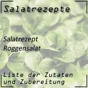 sommerlicher Roggensalat