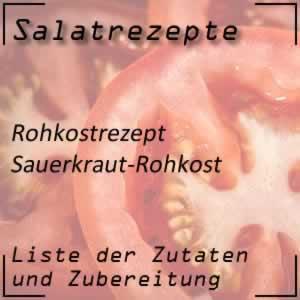 Rezept Sauerkraut-Rohkost
