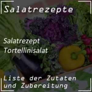 Tortellinisalat mit Zucchini