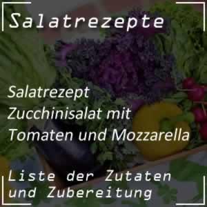 Zucchinisalat mit Tomaten