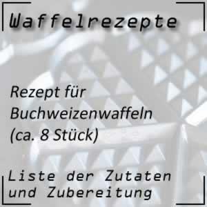 Waffelrezept Buchweizenwaffeln