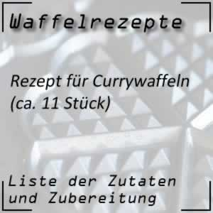 Waffelrezept Currywaffeln
