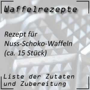 Waffelrezept Nuss-Schoko-Waffeln