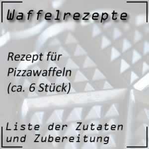 Waffelrezept für Pizzawaffeln