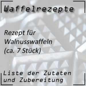 Waffelrezept Walnusswaffeln