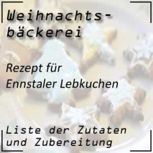 Rezept Ennstaler Lebkuchen