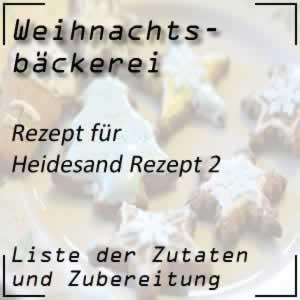 Rezept Heidesand (II)