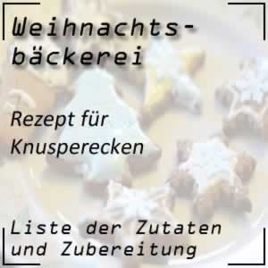 Rezept Knusperecken