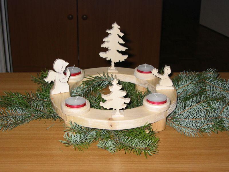 Schnitzen und Weihnachten