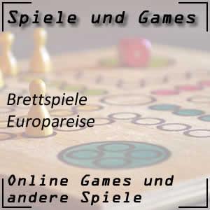 Brettspiel Europareise