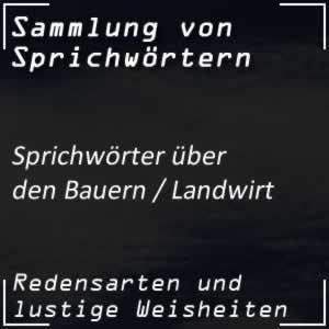 Bauer Sprüche