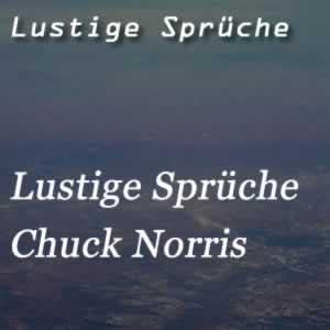 Chuck Norris Sprüche (1)