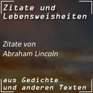 Zitate Abraham Lincoln