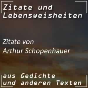 Zitate Arthur Schoppenhauer