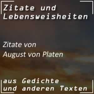 Zitate August von Platen