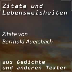 Zitate Berthold Auersbach Spr�che