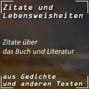 Zitate über das Buch und die Literatur