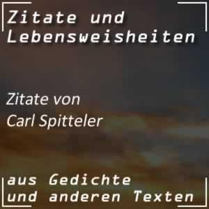 Zitate von Carl Spitteler