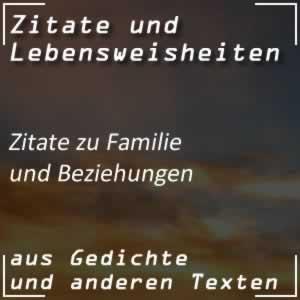 Zitate über Familie und Beziehungen