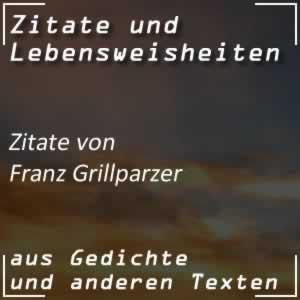 Zitate Franz Grillparzer
