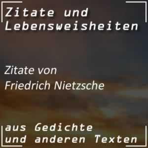 Zitate Friedrich Nietzsche
