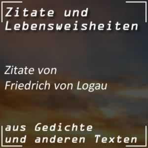 Zitate Friedrich von Logau