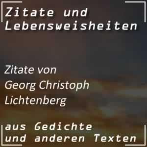 Zitate Georg Christoph Lichtenberg
