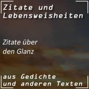 Zitate Glanz