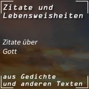Zitate über Gott