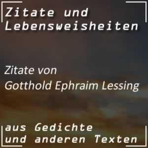 Zitate von Gotthold Ephraim Lessing