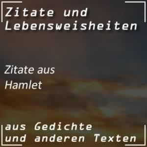 Zitate Hamlet von Shakespeare Spr�che