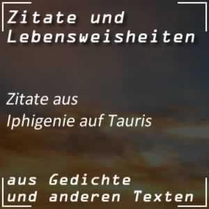 Zitate Iphigenie auf Tauris (Goethe)