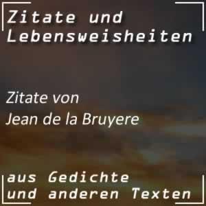 Zitate Jean de la Bruyere