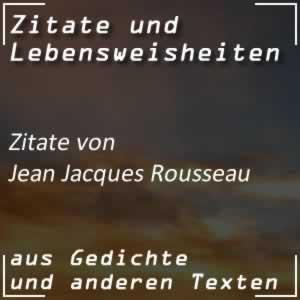 Zitate Jean Jacques Rousseau