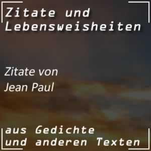 Zitate von Jean Paul