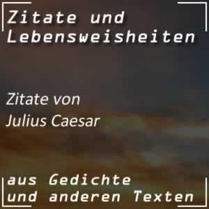 Zitate Julius Caesar
