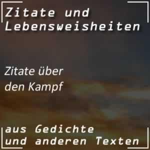 Zitate Kampf