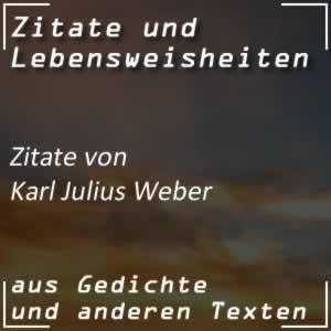 Zitate Karl Julius Weber