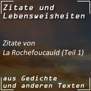 Zitate La Rochefoucauld