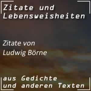 Zitate Ludwig Börne