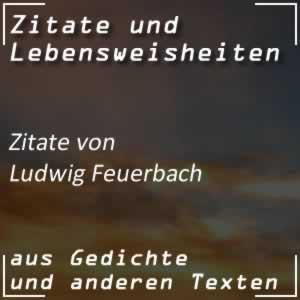 Zitate Ludwig Feuerbach