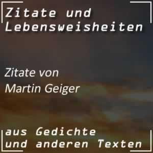 Zitate Martin Geiger