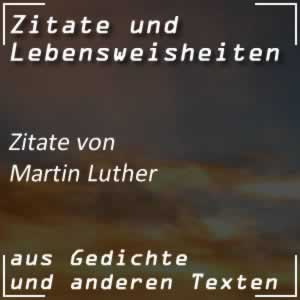 Zitate Martin Luther