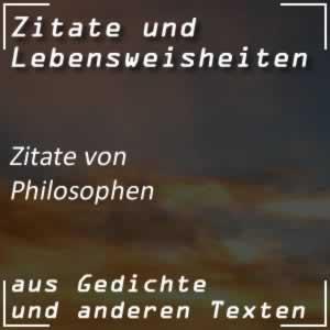 Zitate nach Philosophen