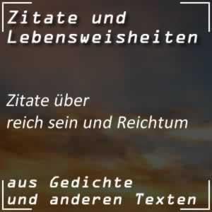 Zitate Reich / Reichtum Spr�che